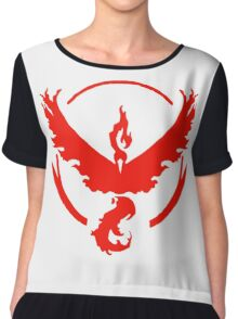 Team Valor Collection Chiffon Top