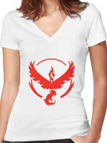 Team Valor Collection Women's Fitted V-Neck T-Shirt