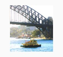 Sydney Harbour Bridge with Ferry and Luna Park Unisex T-Shirt