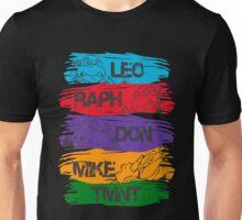 TMNT teenage mutant ninja turtles bandana splash cool Unisex T-Shirt