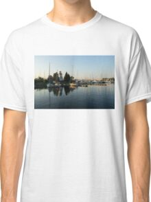 Hot Summer - Clear Sky and Sunshine at the Yacht Club Classic T-Shirt