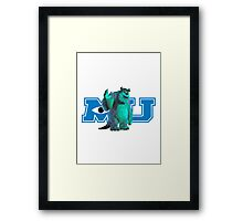Sully Monsters Inc / University Framed Print