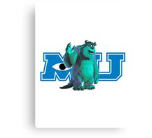 Sully Monsters Inc / University Canvas Print