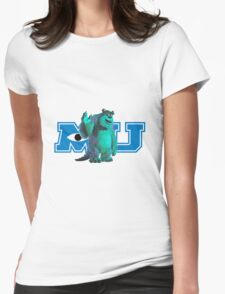 Sully Monsters Inc / University Womens Fitted T-Shirt