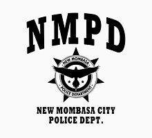 New Mombasa Police Dept. - Halo - Black Unisex T-Shirt