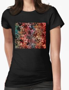 Colorful Vintage Trendy Floral Pattern T-Shirt