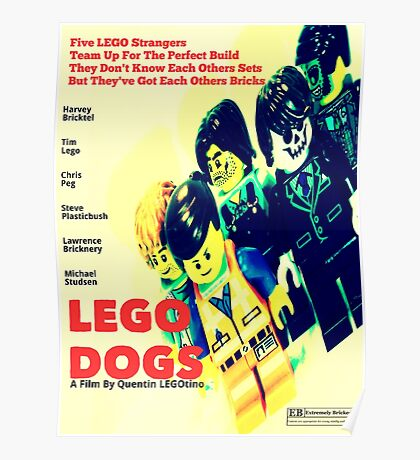 LEGO Dogs Poster