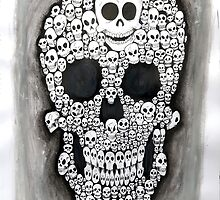 Skull II by Dancing In The Graveyard
