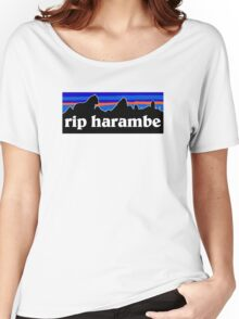 RIP Harambe Patagonia Women's Relaxed Fit T-Shirt