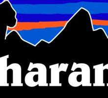 RIP Harambe Patagonia Sticker