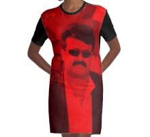 Mohanlal - Celebrity Graphic T-Shirt Dress