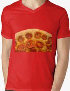 Italian Pizza with fresh Tomatoes Mens V-Neck T-Shirt