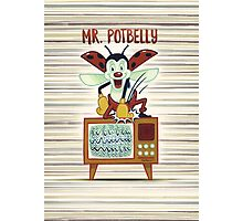 Mr. Potbelly attacks - from series Mr. Potbelly and Mr. Snot Photographic Print