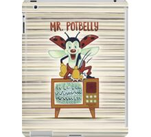 Mr. Potbelly attacks - from series Mr. Potbelly and Mr. Snot iPad Case/Skin