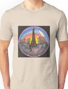 City in a sphere Unisex T-Shirt