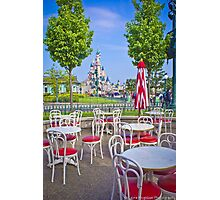 Sleeping Beauty Castle from Casey's Corner Photographic Print