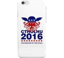 Vote Cthulhu 2016 iPhone Case/Skin