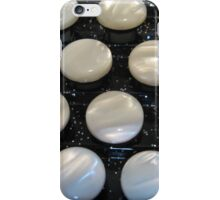 Keyboard on an accordion iPhone Case/Skin