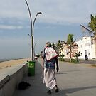 man and the beach by pugazhraj