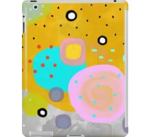 Yellow Abstract Art iPad Case/Skin