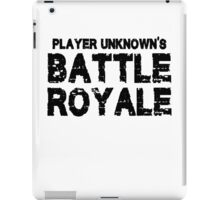 Battle Royal  iPad Case/Skin