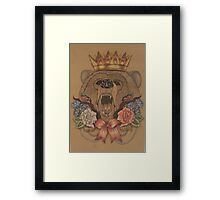 Snow White and Rose Red Framed Print