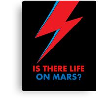 "David Bowie ""Is There Life on Mars?"" original design Canvas Print"