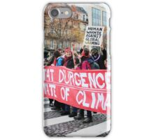State of Climate Emergency iPhone Case/Skin