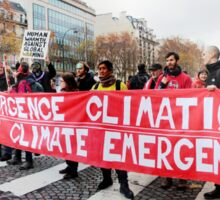 State of Climate Emergency Sticker