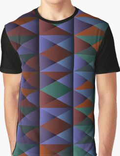 Triangle Shade Pattern Var. 1 Graphic T-Shirt