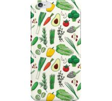Veggies iPhone Case/Skin