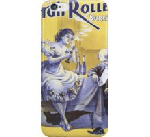 Performing Arts Posters Deveres High Rollers Burlesque Co 2847 iPhone Case/Skin