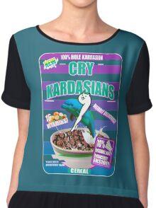 Kim Kardashian Cereal Chiffon Top