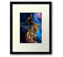 Smile for me little Birdi Framed Print