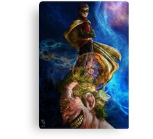 Smile for me little Birdi Canvas Print