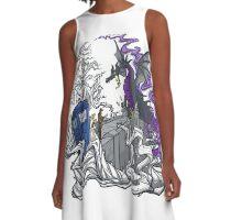 tardis dragon A-Line Dress
