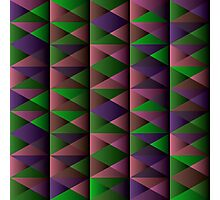 Triangle Shade Pattern Var. 4 Photographic Print