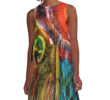 Ghosts A-Line Dress