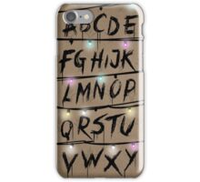 Stranger Things Coloured iPhone Case/Skin