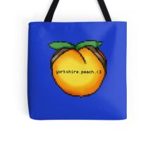 Yorkshire Peach Tote Bag
