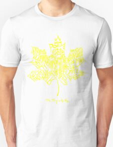 THE TRAGICALLY HIP SUMMER TOUR 2016 edition typography Yellow Unisex T-Shirt