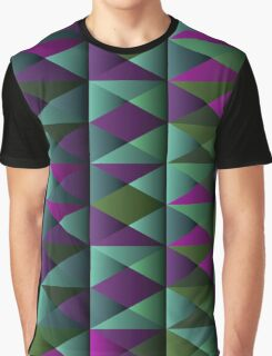 Triangle Shade Pattern Var. 9 Graphic T-Shirt
