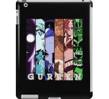 Anti Spiral, Nia, Simon, Kamina, Yoko, Dai Gurren Anime Manga Shirt iPad Case/Skin