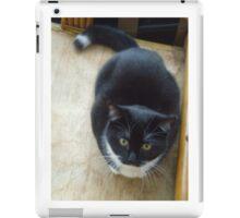 Socks the kitten iPad Case/Skin