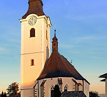 The village church of Sankt Oswald bei Haslach | architectural photography by Patrick Jobst