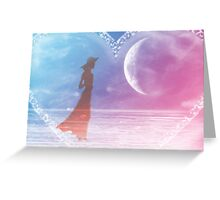 Listen to your heart-  Art + Products Design  Greeting Card