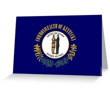 Kentucky State Flag  Greeting Card