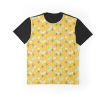Hexagon Bees! Graphic T-Shirt