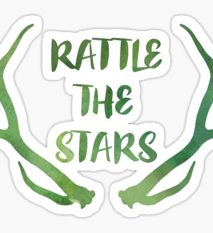 Rattle the Stars watercolor Sticker
