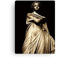 Unknown Statue Canvas Print